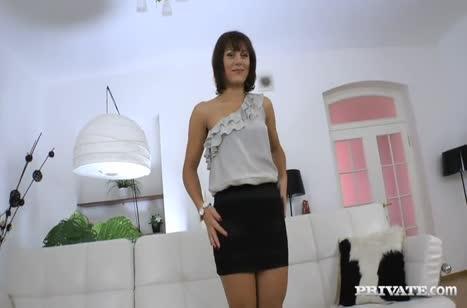 Русская актриса Галина Галкина проходит анальный порно кастинг